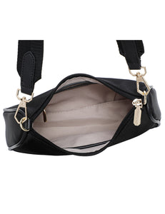 Phoebe Sling Bag (Black)