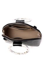Load image into Gallery viewer, Gladys Top Handle Bag - Black