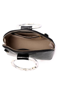 Gladys Top Handle Bag - Black