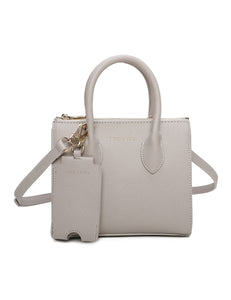 Sheila Top Handle Bag (Grey)
