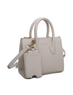 Load image into Gallery viewer, Sheila Top Handle Bag (Grey)