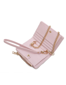 Philomena Chain Wallet (Pink)
