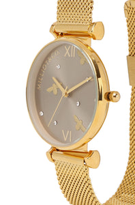 Luna Watch Set (Gold)