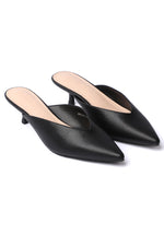 Load image into Gallery viewer, Anastasia Pointed Toe Heels (Black)