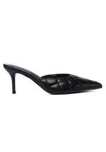Load image into Gallery viewer, Debra Pointed Toe Heel Shoes (Black)