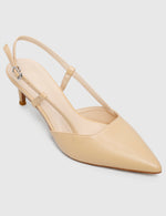 Load image into Gallery viewer, Stylish Pointed Toe Heels (Cornsilk)