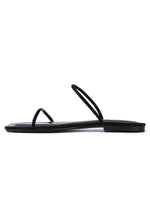 Load image into Gallery viewer, Dreamy Square Toe Sandals (Black)