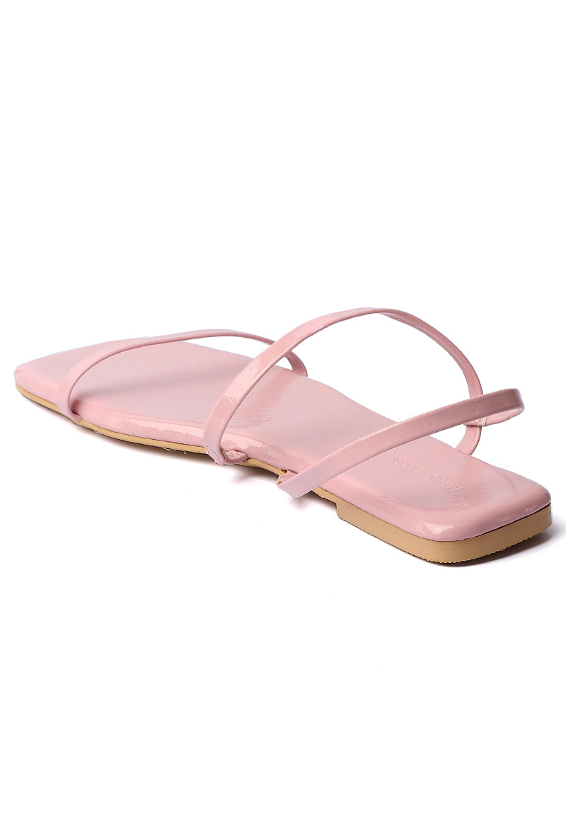 Beauty Square Toe Sandals (Thistle)