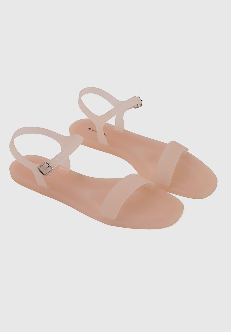 Bubblegum Jelly Sandals (Pink)