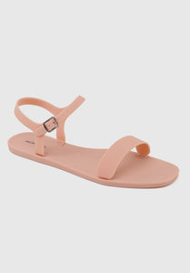 Bubblegum Jelly Sandals (Orange)
