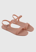 Load image into Gallery viewer, Bubblegum Jelly Sandals (Orange)