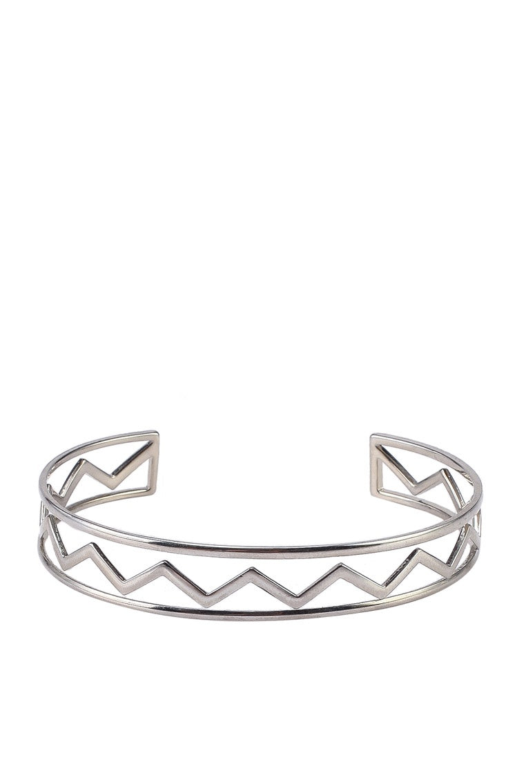 Nellie Bangle - Silver