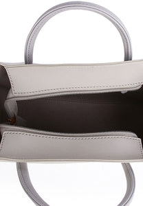 Aviva Top Handle Bag - Grey