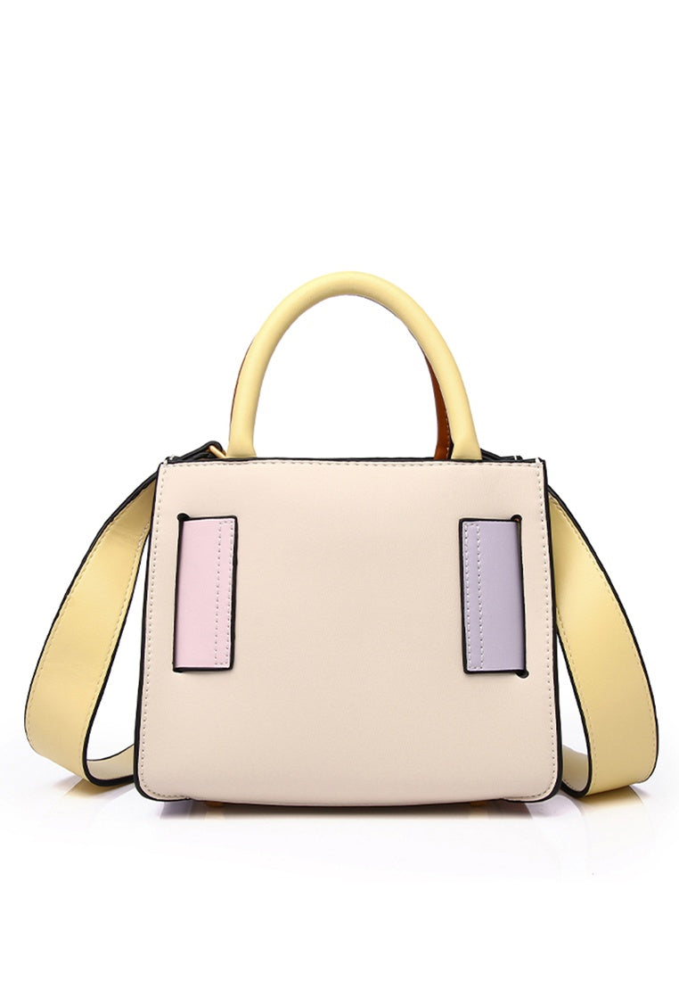 Baey Top Handle Bag (Blanched Almond)