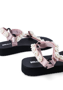 Daisy Do Strap Sandals (Pink)