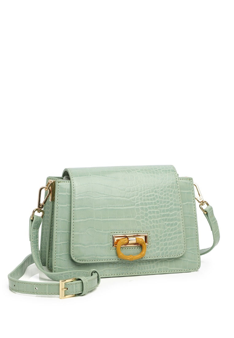 Emerald Sling Bag - Turquoise