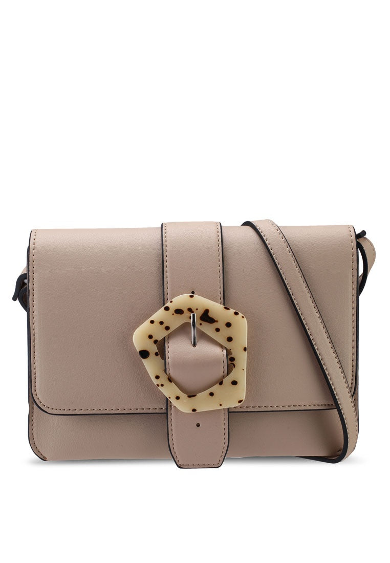 Emily Sling Bag (Taupe)