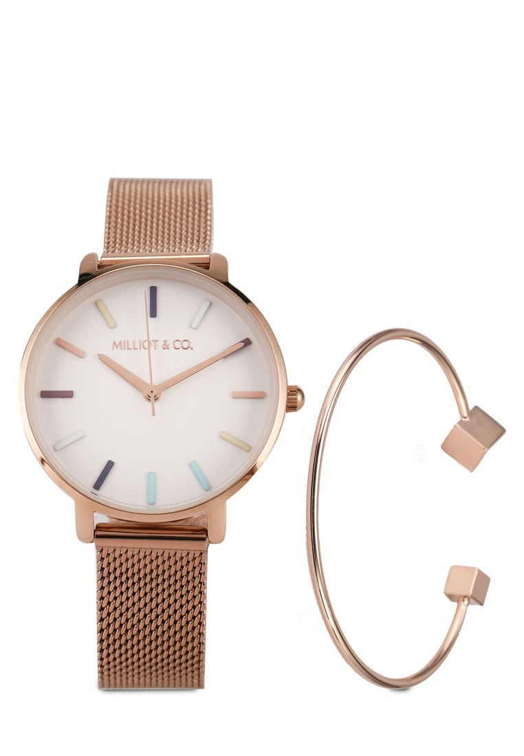 Emma Watch Set (Salmon)