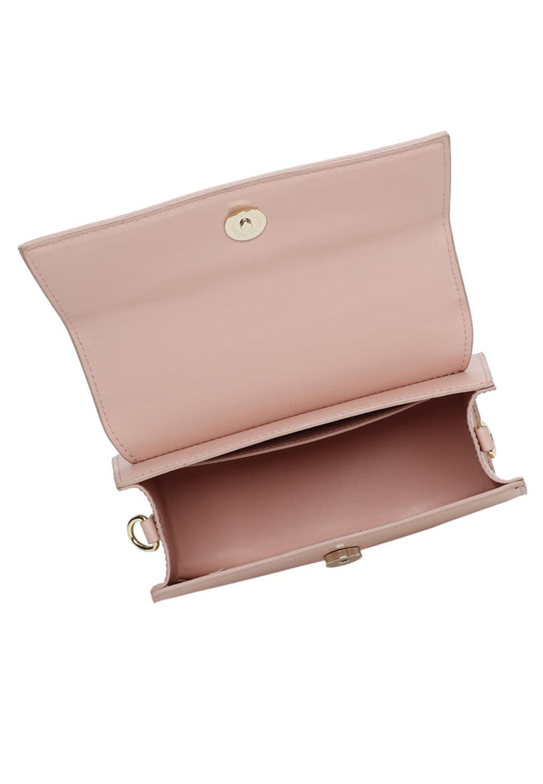 Everly Top Handle Bag (Pink)