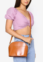 Load image into Gallery viewer, Faith Sling Bag (Brown)