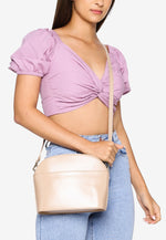 Load image into Gallery viewer, Faith Sling Bag (Nude)