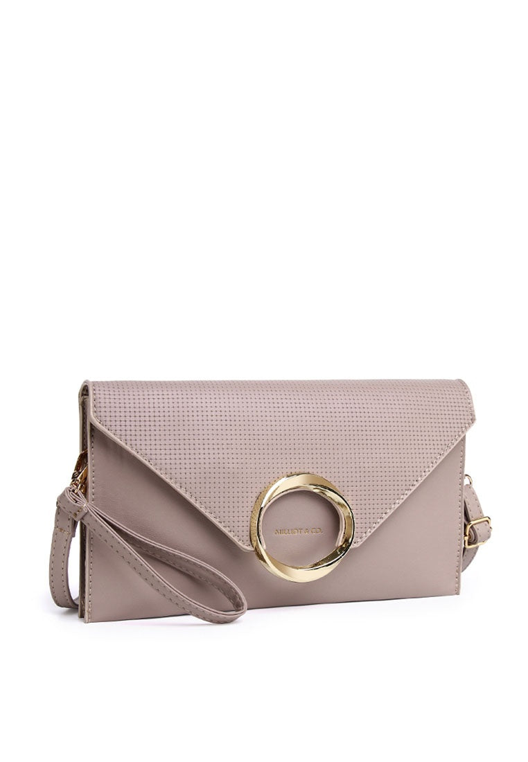 Georgia Clutch - Grey