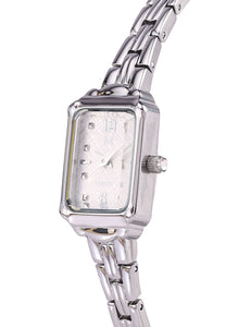 Ivy Silver Mesh Strap Watch (Silver)