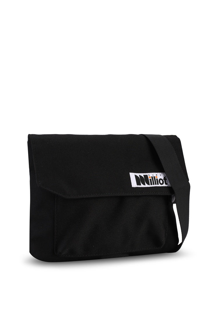 Jasper Messenger Bag (Black)