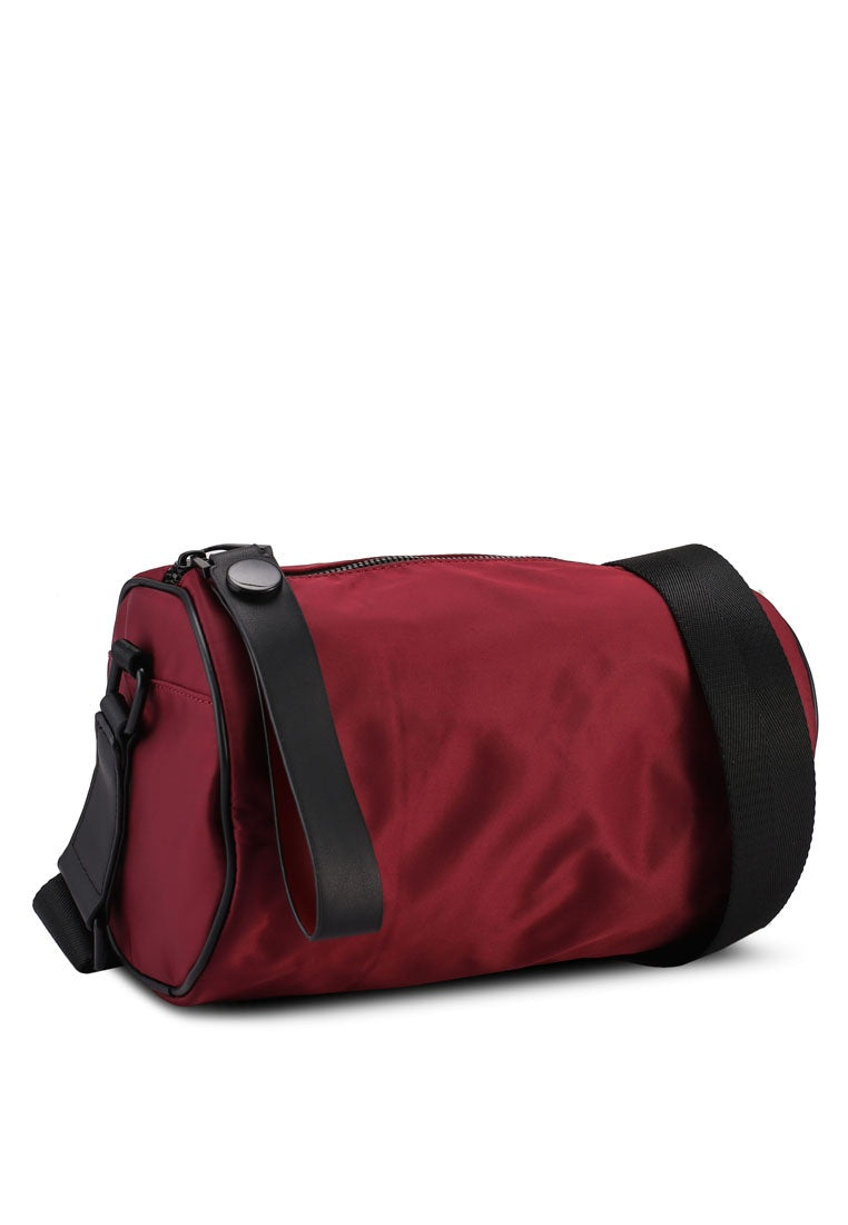 Lorenzo Mini Duffle Bag (Maroon)