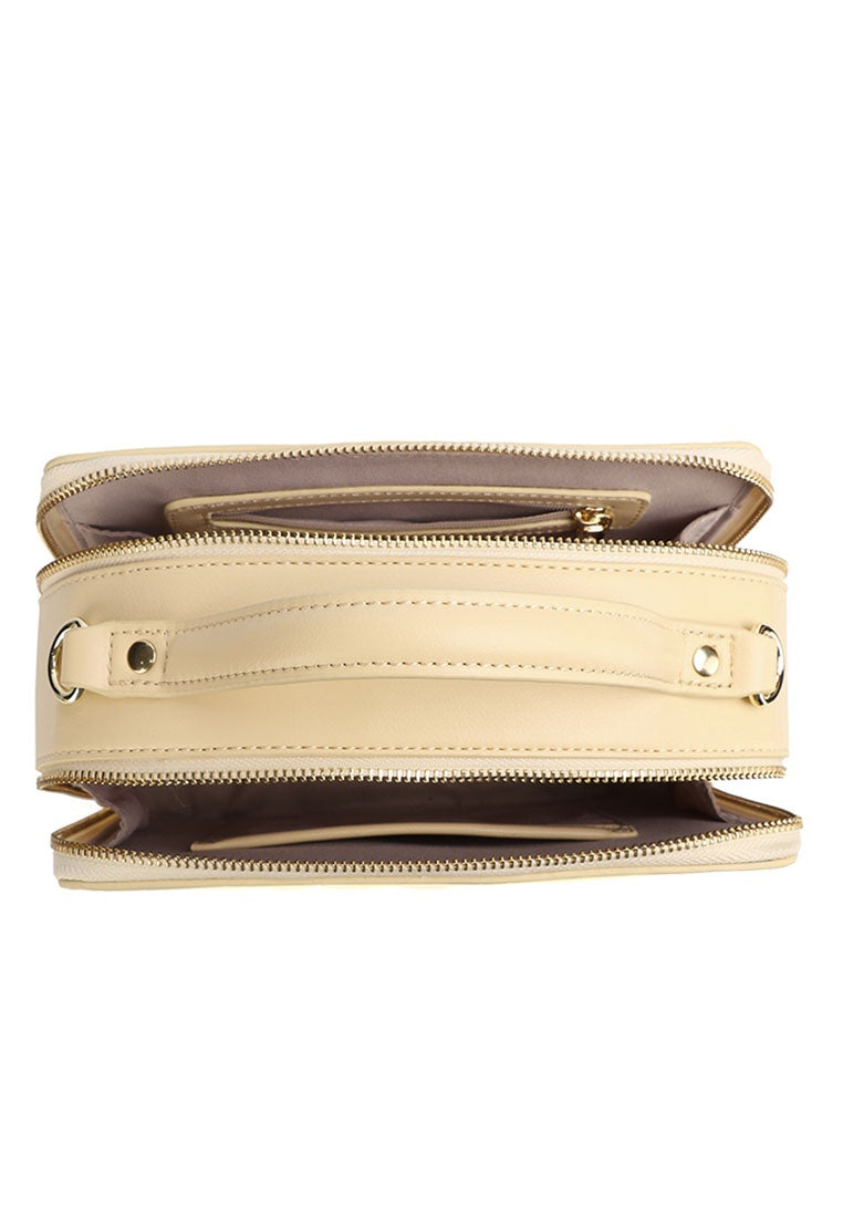 Polly Top Handle Bag (Nude)