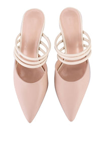 Professional Pointed Toe Heels (Pink)