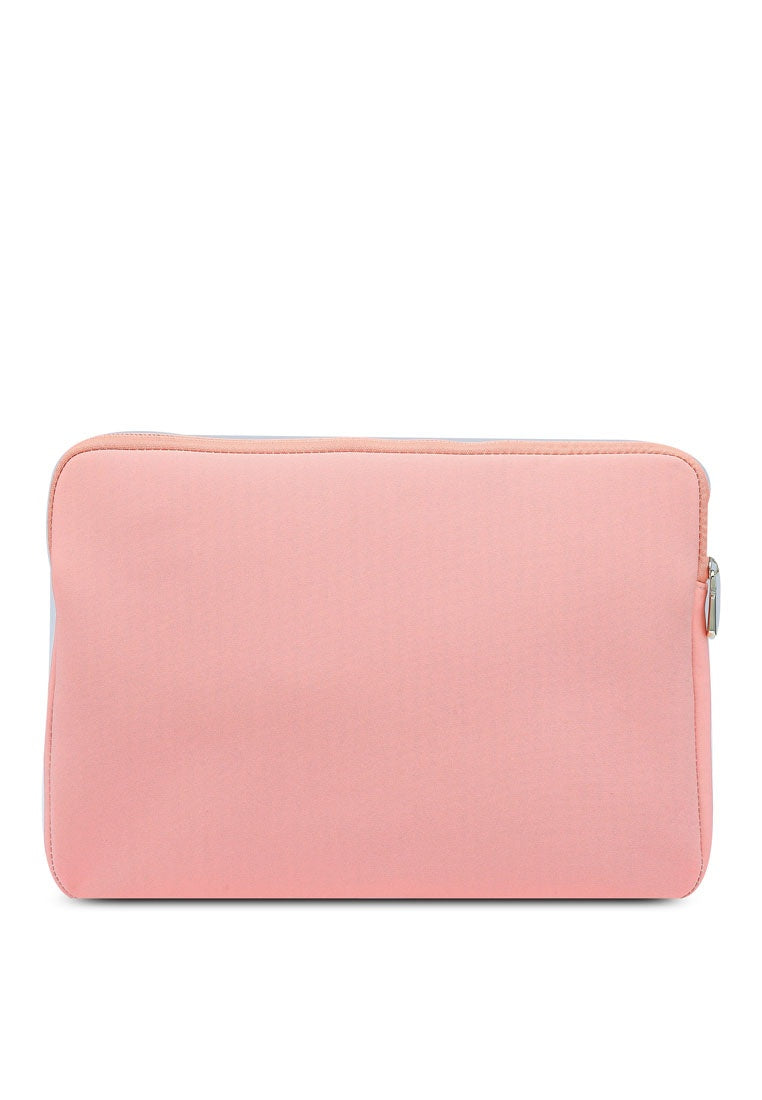 Sabrina 15 Inch Laptop Sleeve (Light Coral)