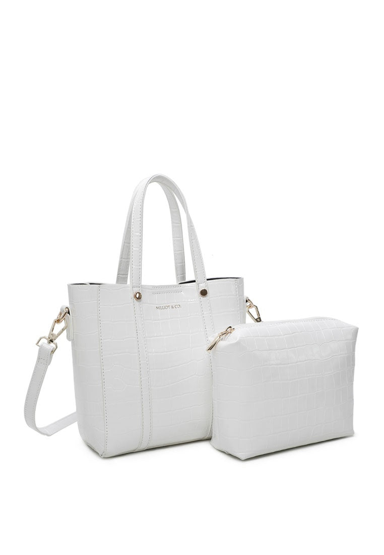 Selma Tote Bag (White)