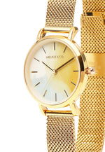 Load image into Gallery viewer, Tinker Gold Mesh Strap Watch (Gold)
