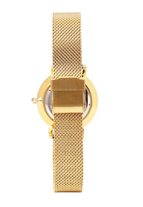 Tinker Gold Mesh Strap Watch (Gold)