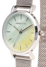 Load image into Gallery viewer, Tinsel Silver Mesh Strap Watch (Silver)
