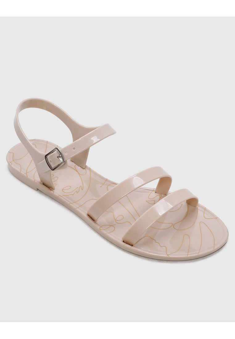 Twinkie Jelly Sandals (Nude)