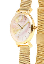 Load image into Gallery viewer, Twinkle Gold Mesh Strap Watch (Gold)