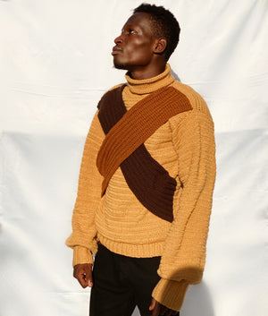 Ari Crochet Men's Sweater