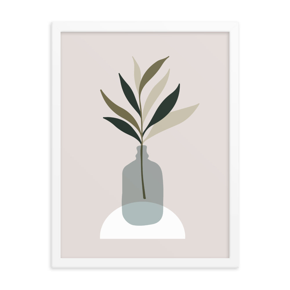 Framed Print: Wellness