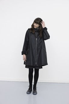McVerdi - Raincoat with Zipper and Hood