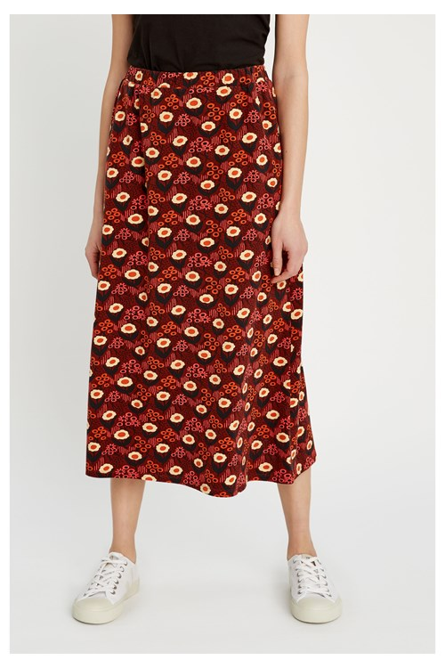 People Tree - V&A Daisy Print Skirt
