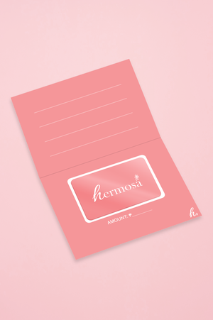 Hermosa Beauty Gift Card - Open