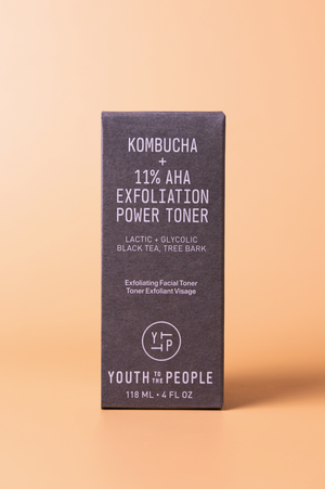 Kombucha + 11% AHA Exfoliation Power Toner - Hermosa