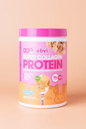 Super Collagen Protein Powder Cinna Cereal