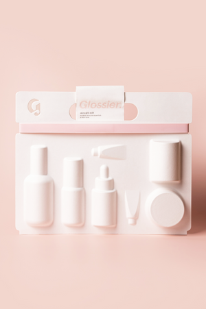 Glossier's best-selling skincare in travel  sizes  - Hermosa Beauty
