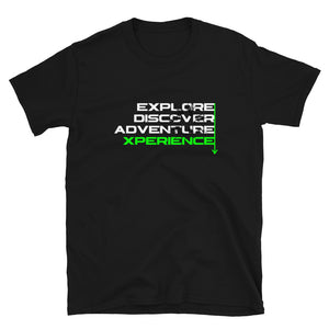 Explore, Discover, Adventure, Xperience Short-Sleeve T-Shirt