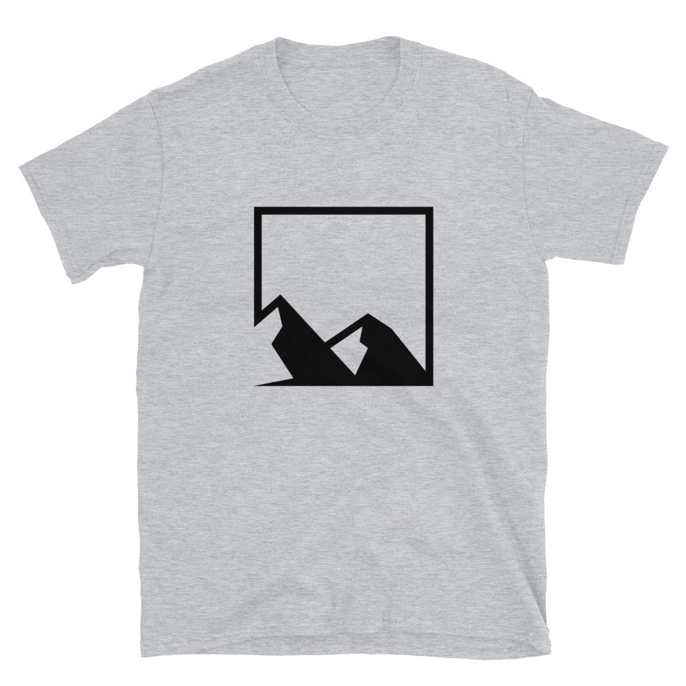 Yukon Black Mountain Logo Short-Sleeve T-Shirt
