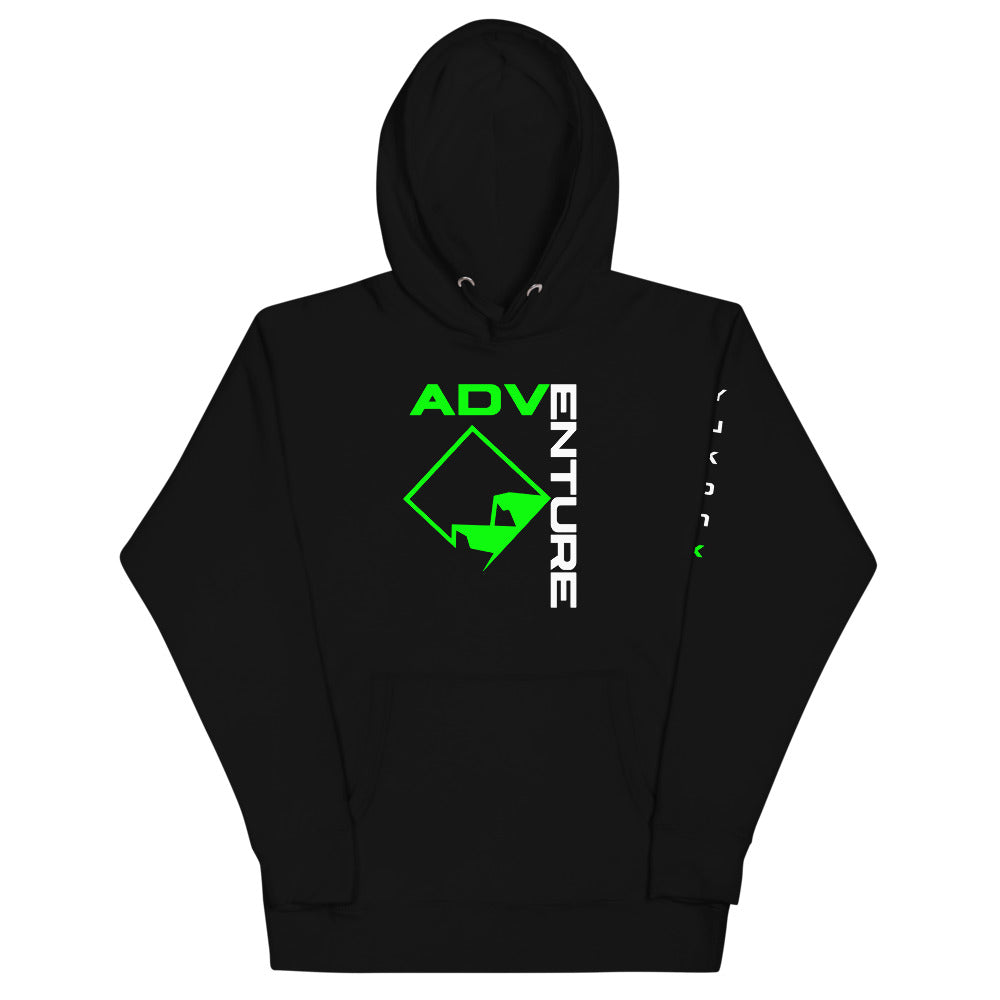 Adventure with Mountain Logo Hoodie
