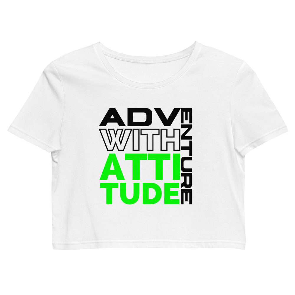 Adventure with Attitude Organic Crop Top
